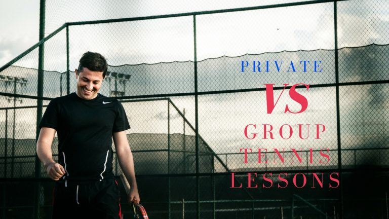Private Vs Group Tennis Lessons