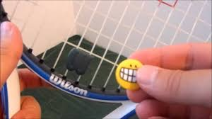 Tennis Racket Dampener Placement