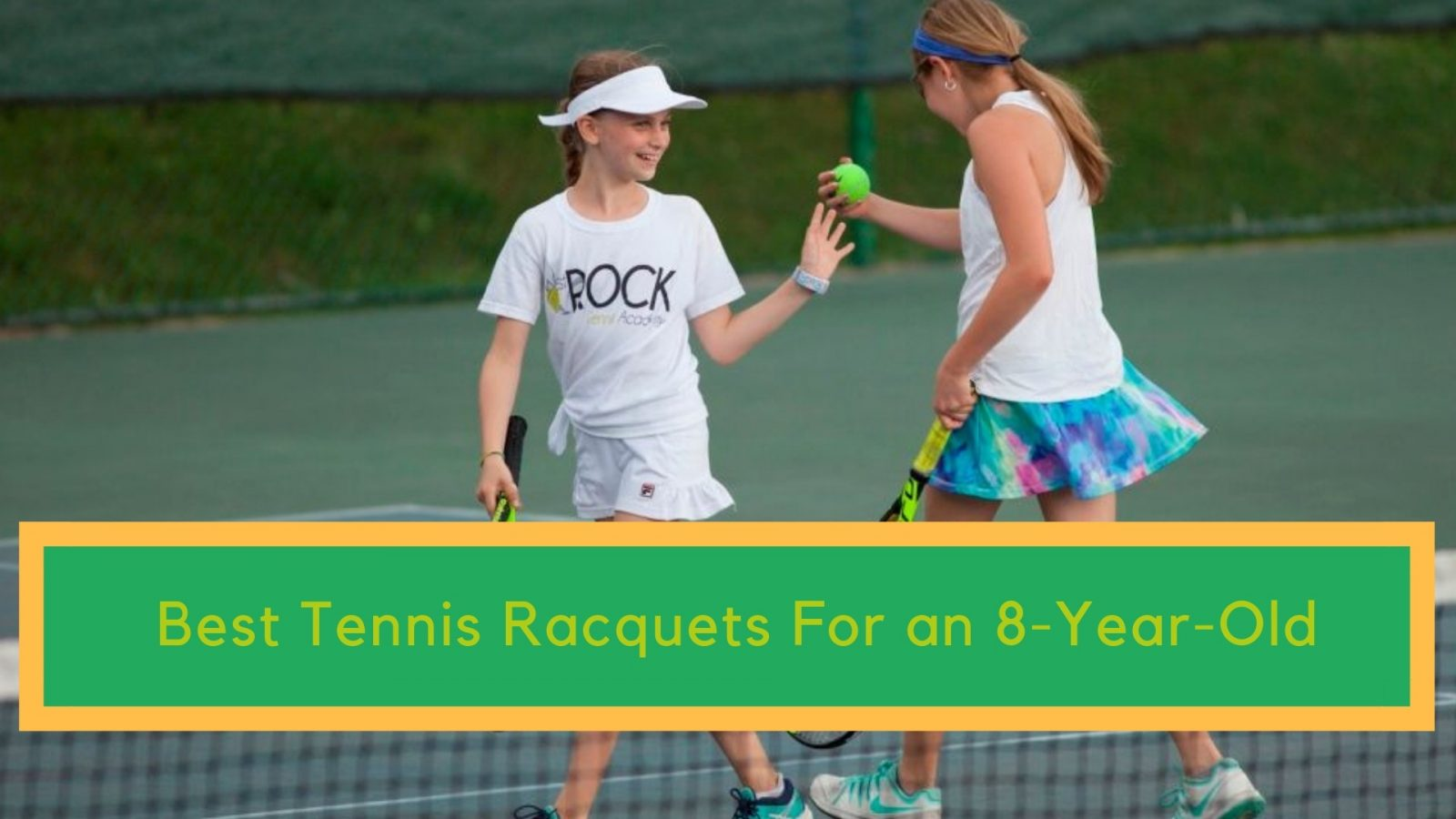 Best Tennis Racquets For an 8-Year-Old. A Guide For Parents